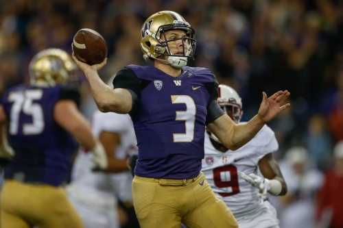 12 in '16: Jake Browning's precision thrusts the Washington Huskies into the national spotlight