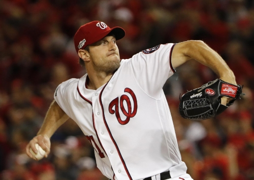 Scherzer's knuckle causing pain; Nats make contingency plans The Associated Press