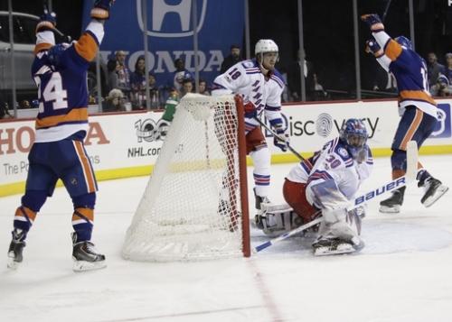 Ladd scores 2 as Islanders beat rival Rangers 4-2 The Associated Press