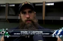 Patrick Eaves on 'great start' in loss to Wild