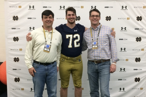 OFD Films: Cole Mabry, Notre Dame Offensive Line Commit
