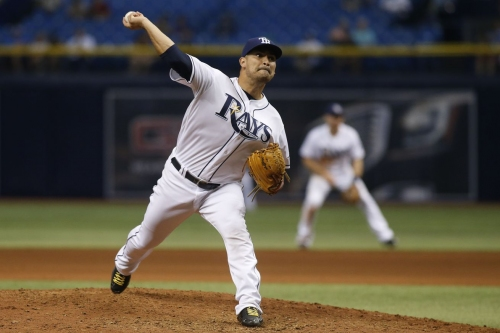 AL West: Rangers acquire Eddie Gamboa from Rays