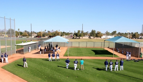 Camp report: Pitchers will throw even if rain comes