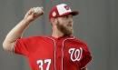 Strasburg hopes runs by beach prep him for 162-game marathon The Associated Press