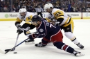 Blue Jackets beat weary Penguins in overtime 2-1 The Associated Press