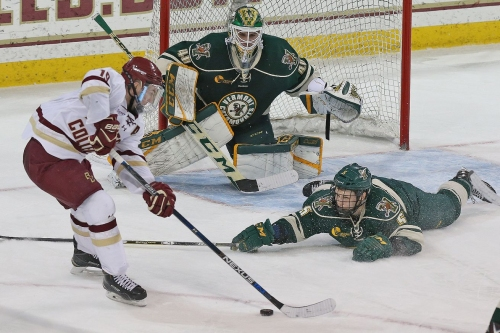 GOAL BY GOAL: Disappointment Again As BC Men's Hockey Blows Three Goal Lead To Vermont