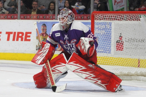 With more uncertainty over Jimmy Howard, Cal Heeter steps up for Griffins