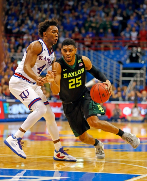 Weekend preview: Kansas visits Baylor, and No. 1 seeds could be on line