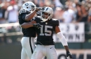 What condition Raiders position is in pre free agency: Wide receiver