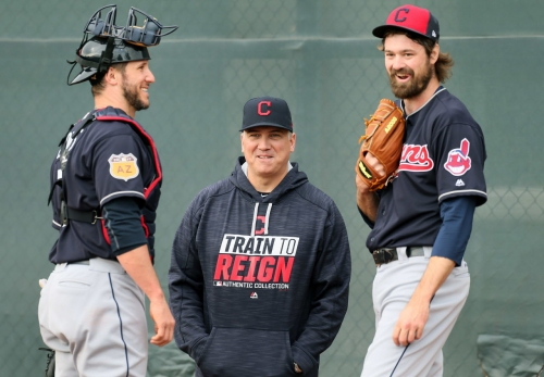 Will Carlos Santana stay in leadoff spot for Cleveland Indians? Hey, Hoynsie