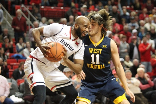 Texas Tech Basketball Tale of the Tape: #9 West Virginia Mountaineers (20-6, 8-5)
