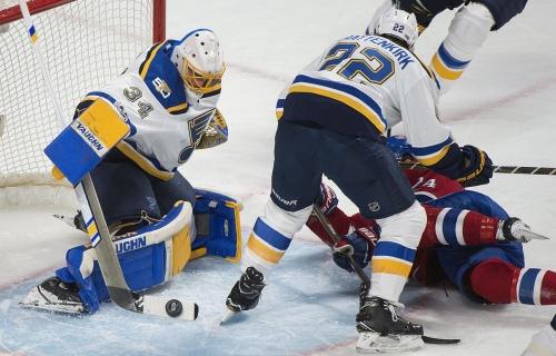 Blues will start Allen in goal against Sabres