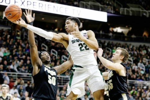 Live scoring, stats: Michigan State tries to topple Big Ten co-leading Purdue