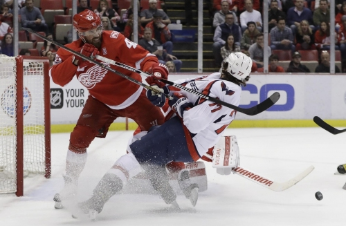 Zetterberg scores in shootout, Red Wings beat Capitals 3-2 The Associated Press