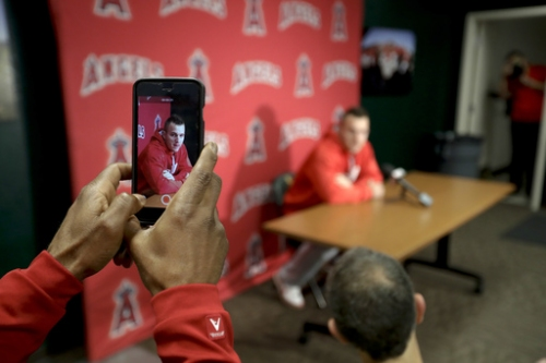 Mike Trout stays humble and hungry in new season with Angels The Associated Press