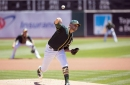 Jesse Hahn is a dark horse to crack the A's rotation