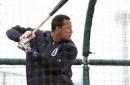 Victor Martinez, Alex Avila are options to give Miggy an occasional rest at 1st