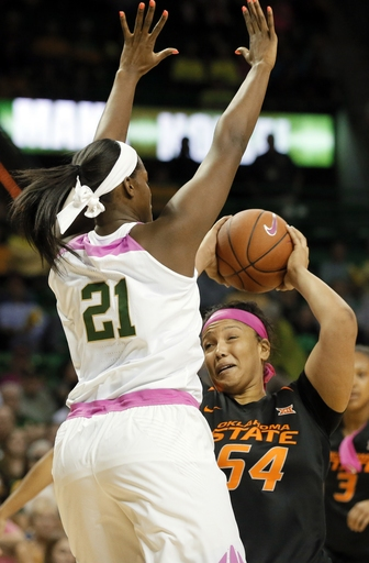 No. 4 Baylor women tie for Big 12 lead, 89-67 over Okla St The Associated Press