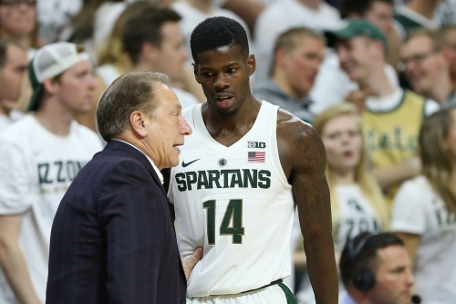 Tom Izzo recaps Purdue loss, status of Eron Harris