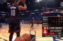 Rockets' Eric Gordon wins 3-Point Contest as Klay Thompson fails to make finals