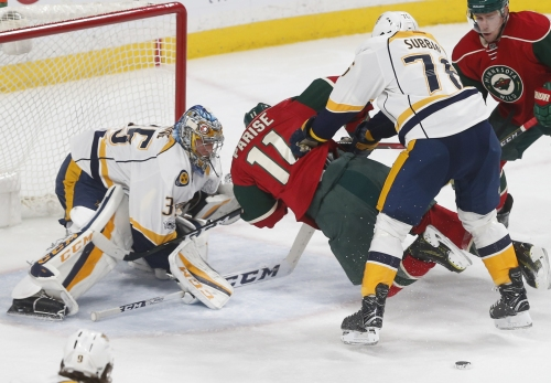 Zucker has 2 goals, assist as Wild beat Predators 5-2 The Associated Press