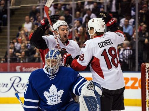 Surging Ottawa Senators get five-point night from Mark Stone in dumping Toronto Maple Leafs 6-3