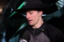 Antoine Roussel has first career hat trick in win