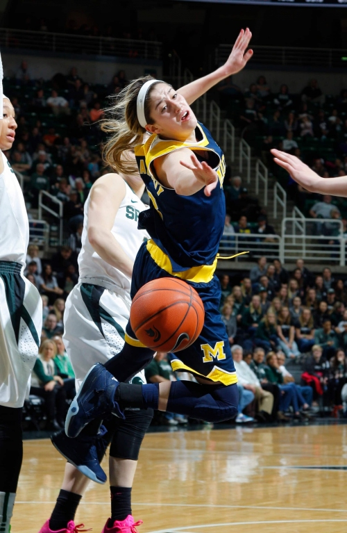 How to watch today's Michigan Wolverines-MSU Spartans women's game