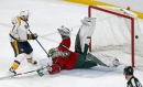 Wild goalie Devan Dubnyk seethes after no-call on James Neal