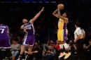 Lakers' Nick Young cites nerves after early exit in 3-point contest