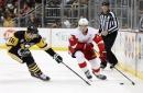Morning Skate: Red Wings at Penguins