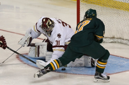GOAL BY GOAL: BC Men's Hockey Ties Vermont (Again) 2-2