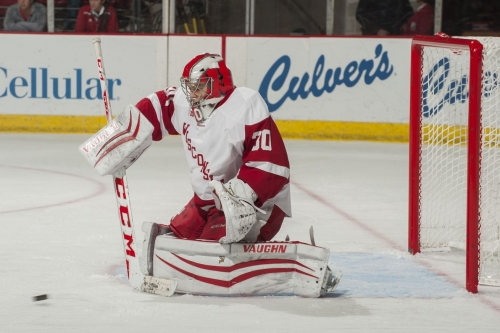 No. 20 Wisconsin men's hockey sweeps Michigan