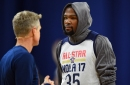 2017 NBA All-Star Weekend: Kerr mic'd up, Durant talks Westbrook, more