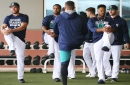 Rain scuttles Mariners' first full-squad workout, but Scott Servais still delivered his opening camp speech