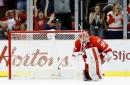 Petr Mrazek, Red Wings' next challenge: Defending champion Penguins