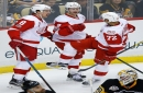 Red Wings outplay Penguins, 5-2, for 2nd straight stunner
