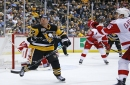 Red Wings cap successful weekend by beating Penguins