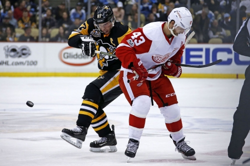 Plus-Minus: Penguins weren't able to execute enough during 5-2 loss to Red Wings