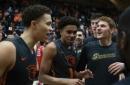 Thompson leads Oregon State past Utah, 68-67