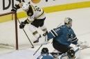 Marchand's OT goal helps Bruins beat Sharks 2-1 The Associated Press