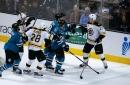 Quick bite: Sharks take tough OT loss to Boston