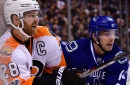 Flyers at Canucks recap: Flyers close out Western road swing with ... a win?
