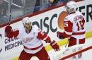 Red Wings' laud Steve Ott's weekend against league's best