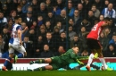 Manchester United manager Jose Mourinho reacts to Marcus Rashford's performance vs Blackburn