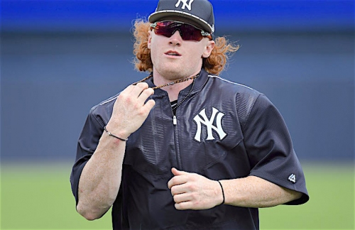 WATCH: Yankees' Joe Girardi talks Clint Frazier's red hair, team's appearance policy