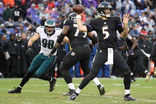 Are the Baltimore Ravens interested in pass rusher Connor Barwin?