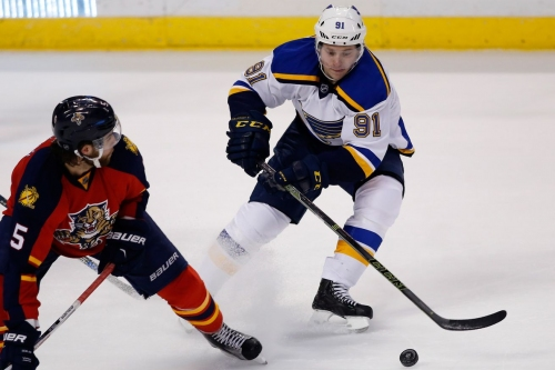 Panthers at Blues morning open thread: Welcome back, Ty Rattie(?)