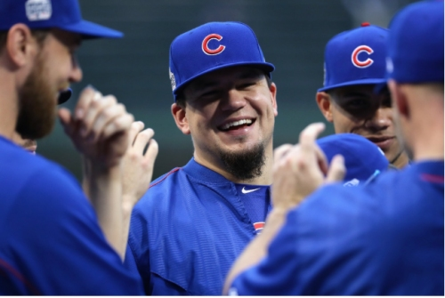 Cubs' Schwarber has no illusions about major role as catcher