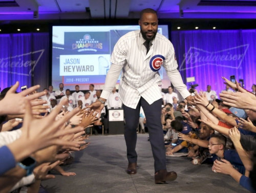 How the Cubs saved Jason Heyward from the wrath of Chicago fans